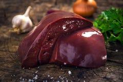 Foie de veau Photos libres de droits
