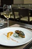 foie gras που ψήνονται στη σχάρα Στοκ φωτογραφίες με δικαίωμα ελεύθερης χρήσης