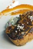foie gras που ψήνονται στη σχάρα Στοκ Φωτογραφία
