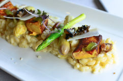 foie gras που ψήνονται στη σχάρα Στοκ Φωτογραφίες