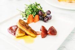 Foie gras royaltyfria bilder