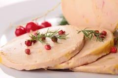 Foie gras arkivbilder