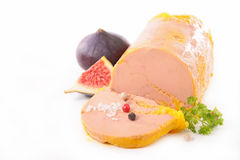 Foie gras arkivfoto