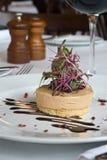 Foie gras Aperitif stockfotografie