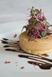Foie gras appetizer Royalty Free Stock Image