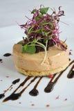 Foie gras appetizer Stock Image