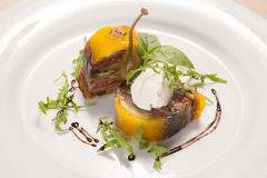 Foie gras delizioso Fotografie Stock Libere da Diritti