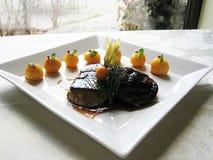Foie-gras escalope Stock Photography