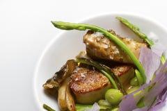 Foie gras escalope Stock Photography