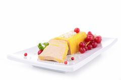 Foie gras isolated Stock Image