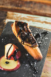 Foie gras snack Stock Image