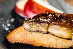 Foie gras snack Royalty Free Stock Photo