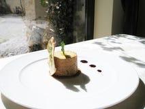 Foie gras terrine Royalty Free Stock Photos