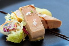 Foie micuit close up. Stock Image