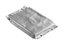 Foil bag Royalty Free Stock Image