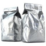 Foil bag package Stock Photography