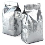 Foil bag package royalty free stock photos