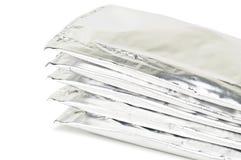 Foil bags Stock Image