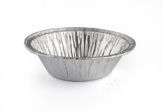 Foil baking cup Stock Image
