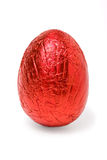 Foil Covered Egg royalty free stock images