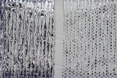 Foil and net Texture Royalty Free Stock Photos