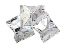 Foil package Stock Image