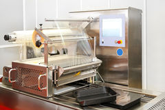 Foil packaging machine Royalty Free Stock Photo