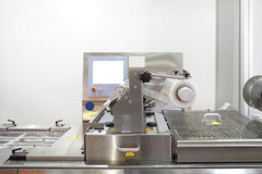 Foil Packaging Machine Royalty Free Stock Image
