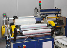 Foil packing machine Royalty Free Stock Images