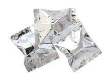 Foil paketerar Fotografering för Bildbyråer