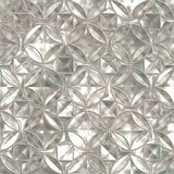 Foil (seamless). Piece mint of a foil. Seamless pattern best for replicate Royalty Free Stock Photos
