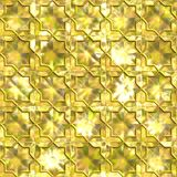 Foil (seamless). Piece mint of a foil. Seamless pattern best for replicate Royalty Free Stock Photography