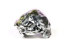 foil silver Royaltyfri Foto