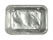 Foil tray Stock Image