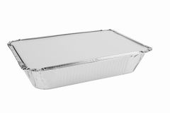 Foil trays Stock Image