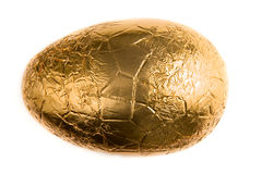 Foil Wrapped Easter Egg Royalty Free Stock Photos