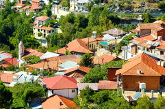 Foini, a village in the Troodos Mountains. Limassol District, Cy Royalty Free Stock Photo