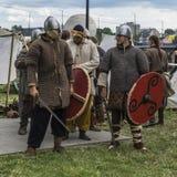 Foire à côté du château de Wawel Photographie stock libre de droits