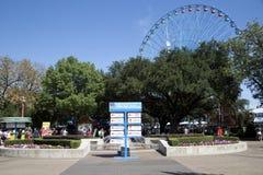 Foire d'état de visite de personnes du Texas 2017 images stock