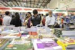 Foire de livre dans Kolkata. Image libre de droits