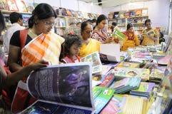 Foire de livre dans Kolkata. Photographie stock libre de droits