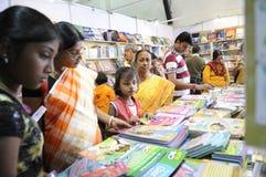 Foire de livre dans Kolkata. Photo libre de droits
