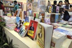Foire de livre dans Kolkata. Images libres de droits
