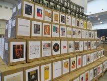 Foire de livres dans Tangerang Images stock