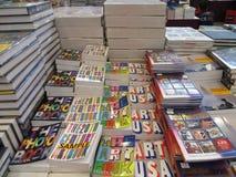 Foire de livres dans Tangerang Images libres de droits