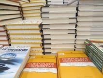 Foire de livres dans Tangerang Photos libres de droits