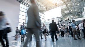 Foire de marche et conférence de commerce international d'hommes d'affaires Photo libre de droits
