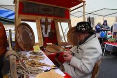 Foire de Sant Ours 2015 Aosta Στοκ Εικόνα