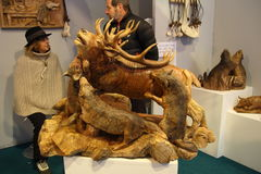 Foire de Sant Ours 2015 Aosta Royalty Free Stock Images