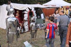 Foire médiévale Images stock